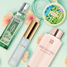 【新作コスメ】夏に纏いたい♡いい香りのボディケア&香水BEST3