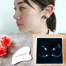【簡単なのに、すぐ小顔!】耳にかけるだけ。首を回すだけ|プロ直伝、スッキリ小顔テク!