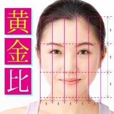 美人顔は左右対称&黄金比で決まる!【おブスに見える非対称顔はコレ!】