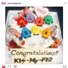 キスマイの皆さんに感謝とお祝いのケーキを♡ルナソルの夏新色も!【VOCEインスタ投稿TOP5】
