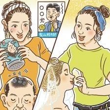 政治家の髪を増やす……?!長井メイクが完成するまでの苦難の歴史を初公開!