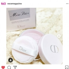 ディオール人気香水「ミス ディオール」の限定ボディパウダーが登場【VOCEインスタ投稿TOP5】