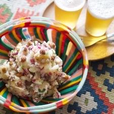 クミンが効いてる!ひよこ豆入りポテサラ  簡単おしゃれな旬のひと皿