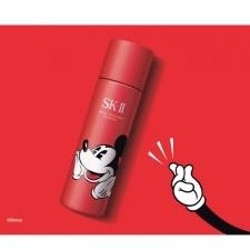 ピテラ™※のエッセンスを馴染ませる「パットパット」をデザイン!クリアな素肌を叶えるSK-Ⅱ【#ピテラのパワー】が表現されたミッキーマウスの限定デザインボトル[PR]