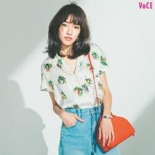 【夏のトレンドファッション】Tシャツを開衿シャツに変えよう♥