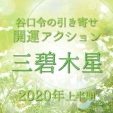 【2020上半期占い・風水】三碧木星は厄年です。ぜひ厄払いを!【谷口令の引き寄せ開運アクションアドバイス】