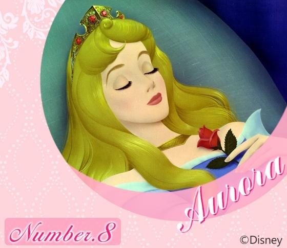 【太陽ナンバー8・オーロラ姫】豊かな想像力と神秘的な美しさの持ち主『Disney プリンセス占い』