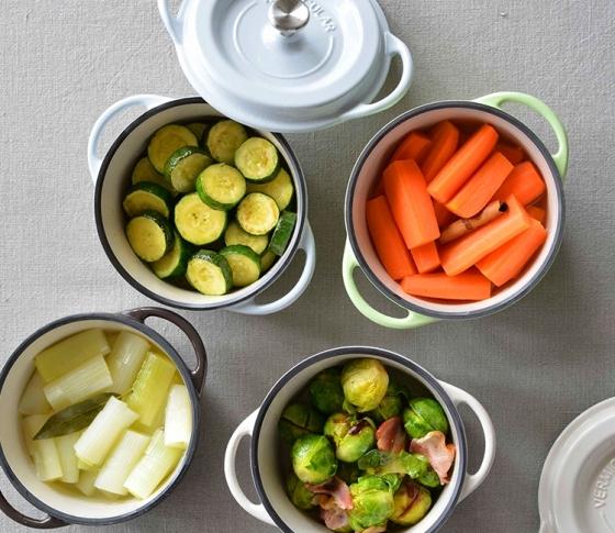【驚くほど簡単!】 バーミキュラで野菜をおいしく食べられる鍋レシピ