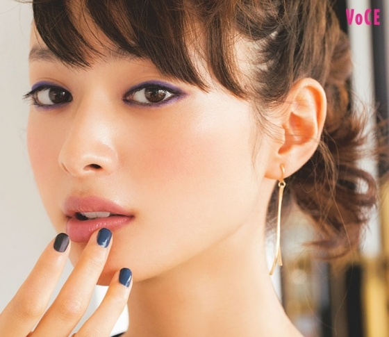 【千吉良恵子さんの愛され顔】ネイビー囲み目で、脱妹キャラ&ギャップ萌え♡