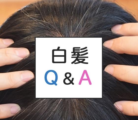 【白髪Q&A】髪と頭皮に関する疑問を解決して、黒髪をキープ!