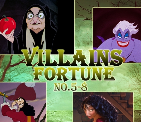 【NO.5~8】あなたの本性は、計算高いフック船長?『Disney ヴィランズ占い』