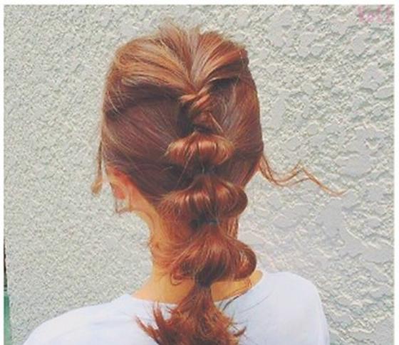 夏にマネしたい♡ヘアアレンジ「玉ねぎヘアー」