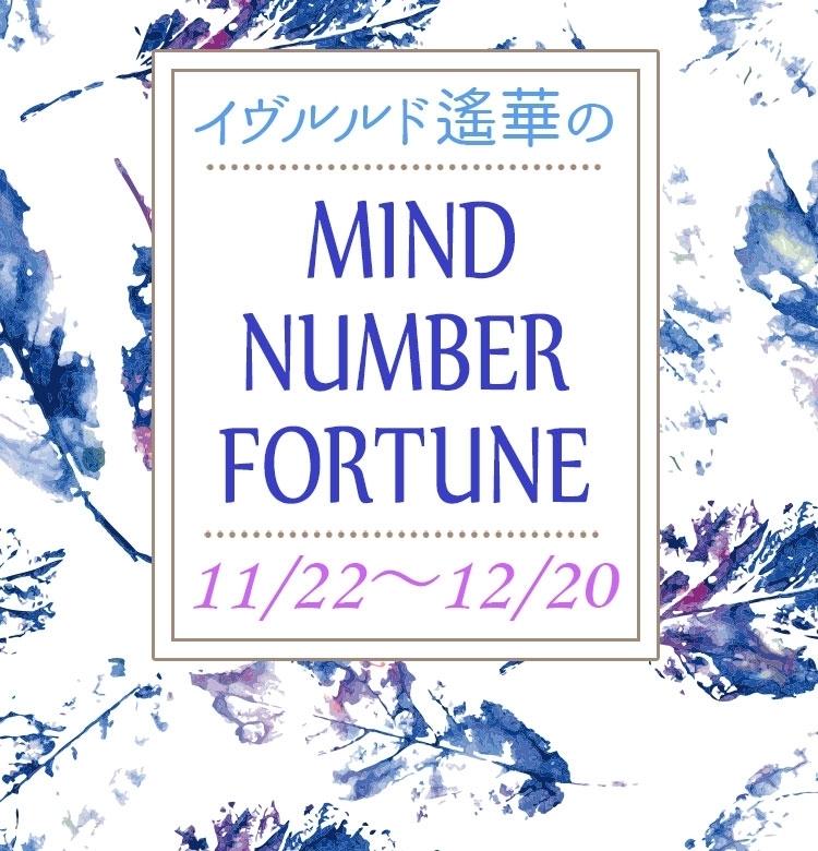 【11/22~12/20】イヴルルド遙華さんの「マインドナンバー占い」、あなたの運気はいかに?