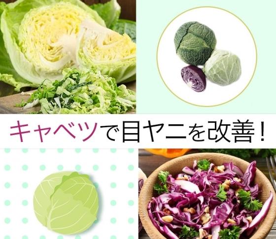 【アレルギー性結膜炎も改善?!】目ヤニが気になるならキャベツを食べよう!
