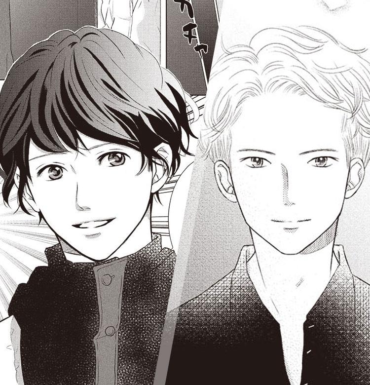 【どっちの揉みメンが好き?】東堂VS須田のイケメン対決from漫画『らぶモミ!』