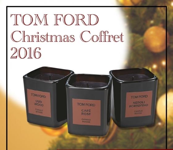 【明日発売コフレ情報】トム フォードの豪華すぎるキャンドルコレクション♡