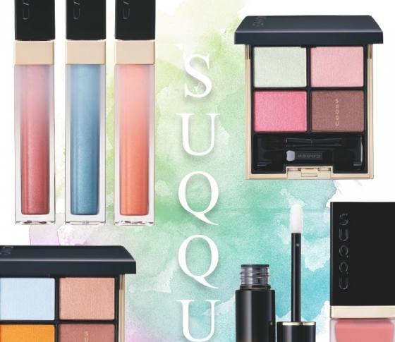 【明日発売】SUQQUの春新色全部見せ!スウォッチ付きです!