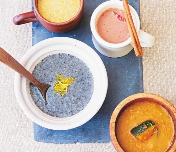 ツヤ肌強化! レスキュー温スープ&ドリンクレシピ