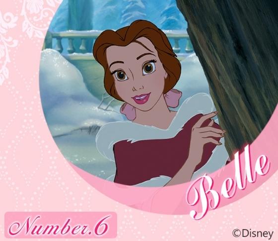 【太陽ナンバー6・ベル】強い信念とぶれない価値観の持ち主『Disney プリンセス占い』