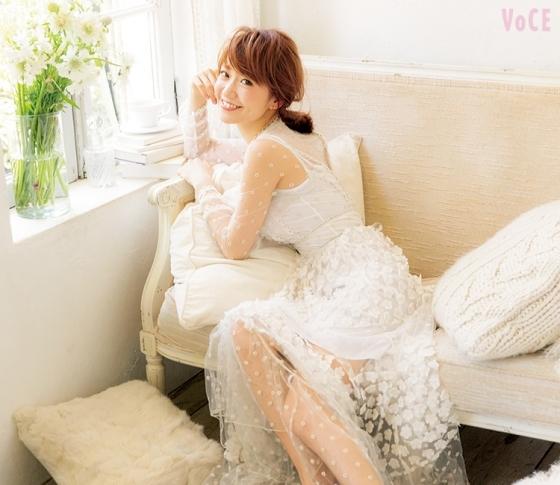 VOCE大島優子さん表紙 撮影の舞台裏をレポート