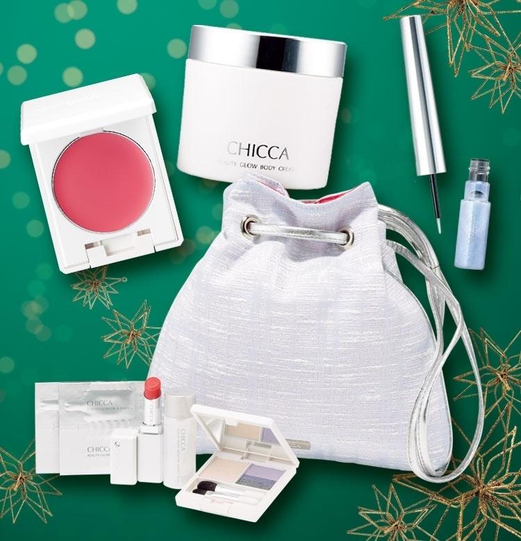 【クリスマスコフレ2019 CHICCA】ブランド最後のコレクション。入手困難間違いなしの逸品!