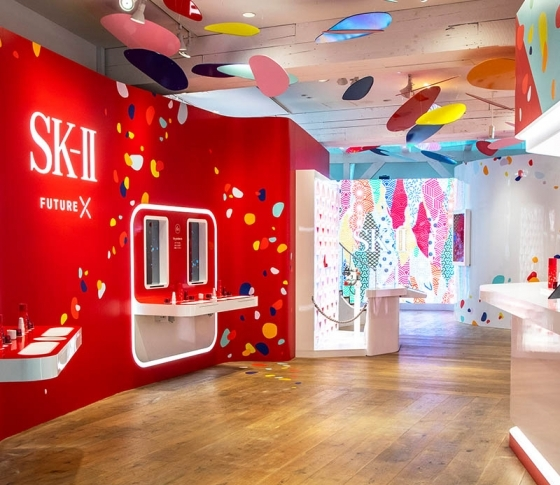 【SK-Ⅱ】の最新スキンケア・ショッピング体験♪【原宿】の【ポップアップストア】へGO!![PR]