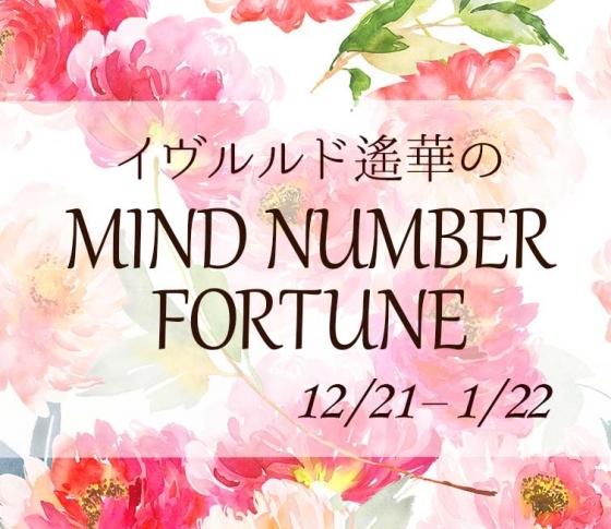 【12/21~1/22】イヴルルド遙華さんの「マインドナンバー占い」、あなたの運気はいかに?