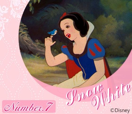 【太陽ナンバー7・白雪姫】細やかな感受性と温かい共感力の持ち主『Disney プリンセス占い』