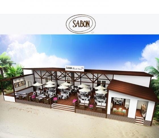 期間限定でオープン! SABONのビーチハウスin鎌倉