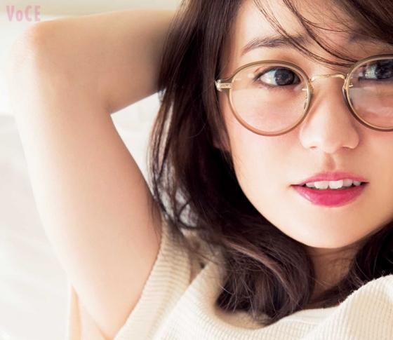 大島優子のめがねを100倍可愛くするメイク♡