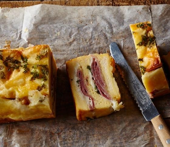 食パンで作れるケークサレ!?「クロックケーク」がブームの予感♪