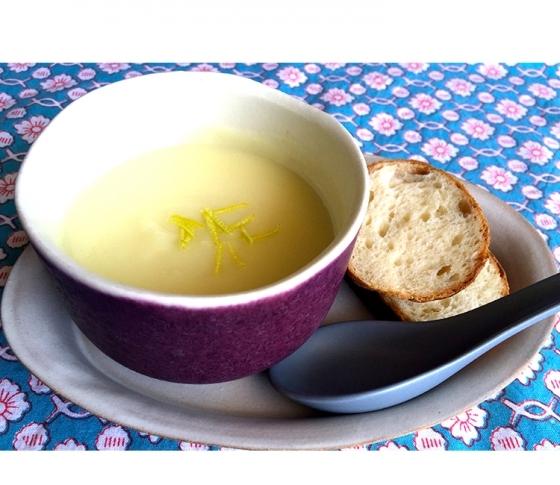 新じゃがのレモンポタージュ | 簡単おしゃれな旬のひと皿