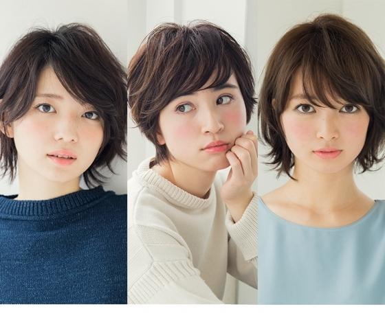 美人度◎な色っぽショートヘア 4スタイル