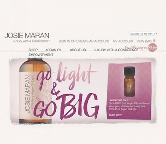 アメリカで大人気♡「Josie Maran」のコスメが気になる!