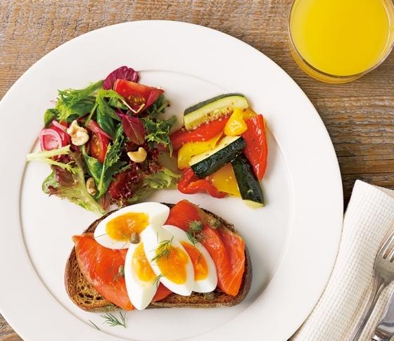 美に効く朝ごはん! ワンプレートで理想の栄養バランスを。