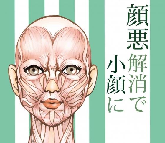デカ顔は生まれつきの骨格のせいじゃない!【顔悪(がんあく)解消で小顔⁉︎】