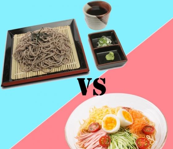【冷やし中華とざるそば、どっちが太らない?】ヤセる習慣のための食事の正しい選び方!