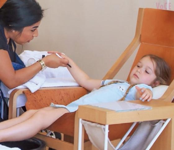 ベッカムの娘(5歳)はネイルサロンへ……美意識高すぎなセレブKIDSたちに注目!?