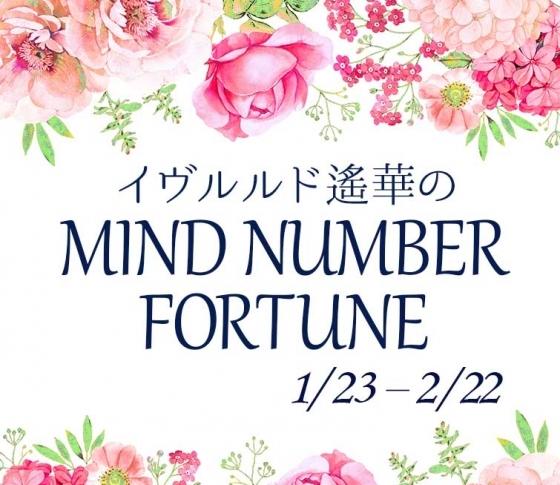 【1/23~2/22】イヴルルド遙華さんの「マインドナンバー占い」、あなたの運気はいかに?