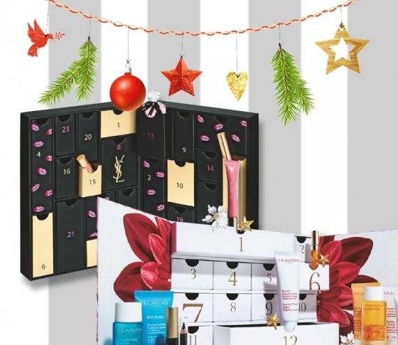 """2018年クリスマスコフレは""""アドベントカレンダー""""がアツイ!!【YSL、ポルジョ、ロクシタン、クラランス】"""
