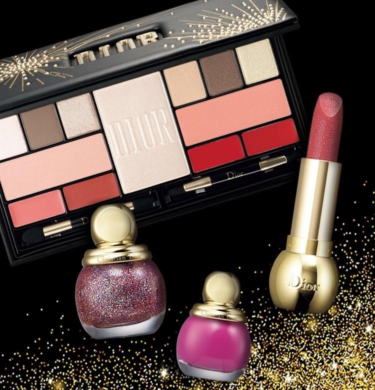 【クリスマスコフレ2019 Dior】限定アイパレに限定リップ……買い逃せないアイテムが盛りだくさん!