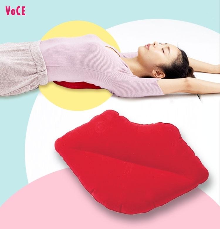 VOCE3月号付録【くびれるリップ枕】で寝るだけメリハリボディ【ラク痩せ①】