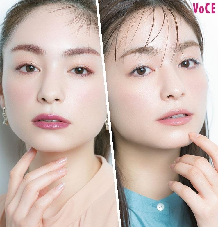 色素薄い系&赤みワントーン、イマドキ旬顔LOOK 2【今っぽ毛メイク】