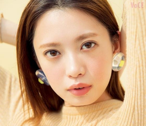"""""""ピュア""""がキーワード! 人気モデル宮田聡子が春メイクに変身"""