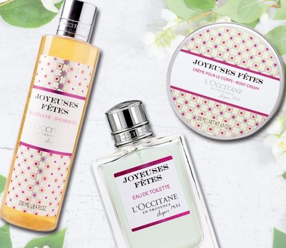 ジャスミンとグリーンティの香り♡ ロクシタンのホリデーコレクションほか本日発売コスメ