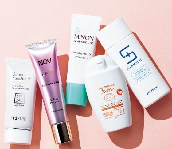 ゆらぎ肌・敏感肌でも安心! 肌を守り抜く【低刺激UV】ベスト5