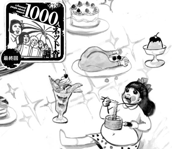 「シャコ20貫」「24年間ダブルチーズバーガー」etc.……【食の偏愛】徹底レポート!|1000人ネット調査