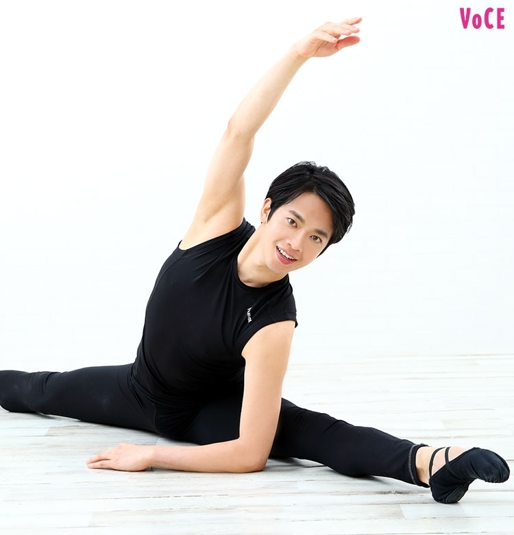 【バレエ王子・竹田純のどこでもエクササイズ②】たった1分おうちでスリム美脚に♡