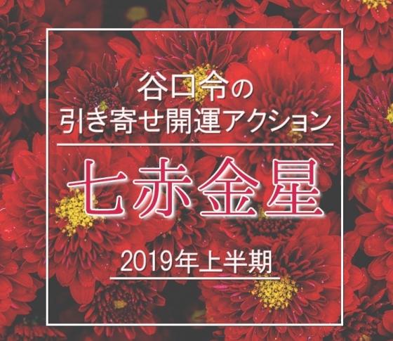 【2019年上半期】七赤金星は縁が縁を呼ぶ年に。【谷口令の引き寄せ開運アクションアドバイス】