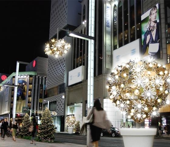 【冬のデートスポット♡】銀座のイルミネーションが今年はさらにスゴイらしい⁉